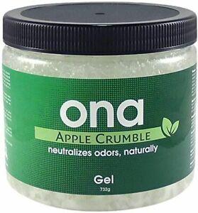 Ona Block Apple Crumble Powerful Organic Natural Odour Neutralizer Grow Room