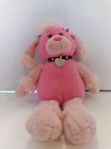 First & Main Plush Fifi Pink Poodle Child Toy Lovey Pre-teen Teen Decor Collect