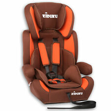 Autokindersitz Autositz Kinderautositz mit Extrapolster 9-36kg Gruppe 1+2+3 Brau