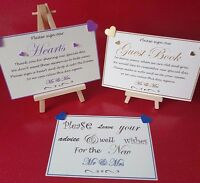 Personalised Wedding Guest Book Sign Our Hearts Wedding advise and well wishes