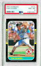 1987 Donruss Tom Seaver PSA 8