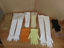 Vintage Formal Wear Gloves Van Raalte, Fownes, Shalimar, Kayzer, Unknown