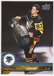 2017-18 Upper Deck #391 Sidney Crosby Pittsburgh Penguins