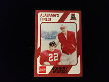 1989 Collegiate Collection Alabama JOHNNY MUSSO, BEAR BRYANT #45 Nrmt+