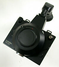 Contax Preview Polaroid back cámara Camera mecánico shutter para Zeiss objetiva