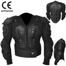 AQWA Motocross Motorbike Body Armour Motorcycle Protection Guard Jacket, Small