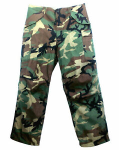 NYCO USA M65 TROUSER PANT NEW GENUINE MILITARY ISSUE US MADE WOODLAND CAMOUFLAGE