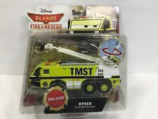 Disney Pixar Cars Planes Fire & Rescue Deluxe Ryker With Moving Boom Vehicle NEW
