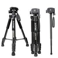 ZOMEI Q222 Tripod Monopod Lightweight Portable Travel Tripod for Camera Sony