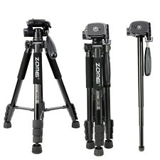 ZOMEi Digital SLR Camera Tripod Monopod 2 in 1 Travel Portable Tripod for Canon