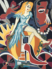 JACQUELINE DITT - Cinderella's High Heel  A4 DRUCK n.Gemälde Bild Bilder Giclee