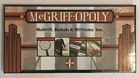 McGriff-Opoly Insurance Brokerage Board Game McGriff Seibels Williams Collector