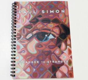 Paul Simon Chuck Close Spiral Notebook Stranger To Stranger Album 2016
