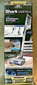 NEW Shark Vertex DuoClean PowerFins Lightweight Cordless Stick Vacuum IZ462H