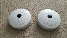 Lot of 2 USED  ACTI KCM-3911 IP Cameras , 4 MP Poe Hemisheric