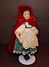 Little Red Riding Hood Doll by Avon