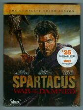 SPARTACUS War of the Damned! The Complete Third Season! Brand New DVD 3-Disc Set