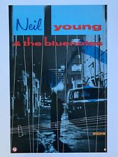 Original 1988 Neil Young & The Bluenotes Promotional Rock Poster 23� x 35� Usa