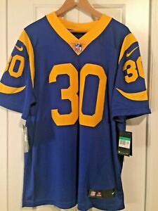 Los Angeles Rams Todd Gurley Nike Navy On Field Authentic Jersey Retail $150 XL