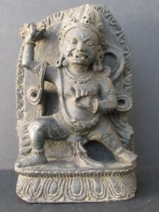 Sculpture IN Stone, Vajrapani Of Tibet