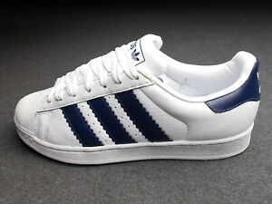 ADIDAS SUPERSTAR ALLROUND SAMBA STAN SMITH CHILE 41 WEISS BLAU FAST WIE NEU