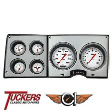 1973-87 Chevy Gmc Truck Gauges Classic Instruments Ct73Vsw, Velocity White