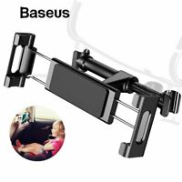 Baseus Car Seat Back Headrest Mount Holder for 4.7-12.9 inch iPad Phone Tablet