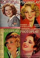 192 OLD ISSUES OF PHOTOPLAY - AMERICA FILM FAN MAGAZINE VOL.2 (1931-1946) ON DVD