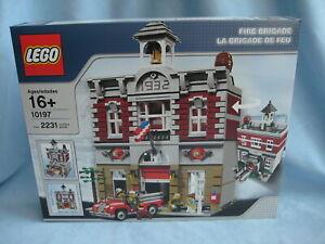 Lego Exklusiv Set 10197 Feuerwache Fire Brigade noch neu + ovp