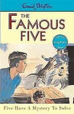 Famous Five Have a Mystery to Solve by Enid Blyton, Book, New (Paperback)