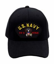 US Navy - WWII Veteran Hat BRAND NEW (1562) Ballcap Cap FREE SHIPPING! 62076