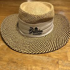 AHEAD Fine Hats Straw Panama Golf Hat MCI Heritage Hilton Head M L Sea Pines e3be1495f32d