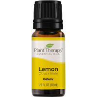Plant Therapy Lemon Essential Oil 100% Pure, Undiluted, Natural Aromatherapy