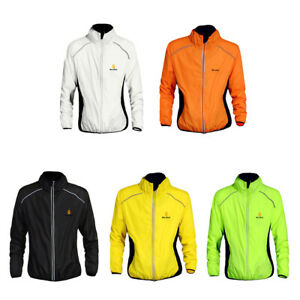 Reflective Ultra-light Cycling Jacket Bicycle Riding Wind Coat for Women Men