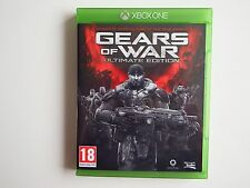Gears of War ULTIMATE EDITION sur Xbox one in Near Comme neuf cond (Inutilisé DLC)