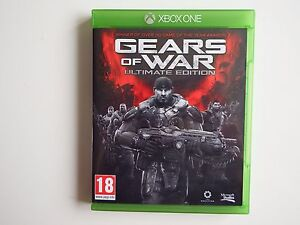 Gears of War Ultimate Edition on Xbox One in MINT condition