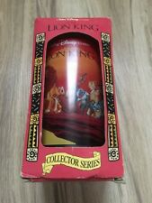 Disney Lion King Burger King Collector Series Plastic Glass Cup 1994