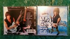 Planet Gemini;Guitair shred Nitro God Michael Angelo Batio,MAB signed cd -dvd lp