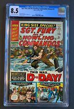 SGT. FURY & His Howling Commandos ANNUAL #2, Marvel Comics, CGC 8.5 grade