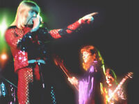 The SWEET 7.12.1973 Musikhalle Hamburg FOTO Original vom Negativ-Archiv