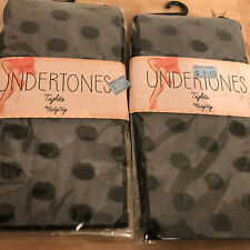 Undertones tights by RickyCity VARIOUS STYLES, package of two NIP