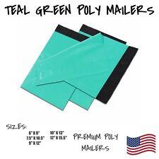 Teal Green Poly Mailers Shipping Envelope Packaging Bag Self Sealing Mailing Bag