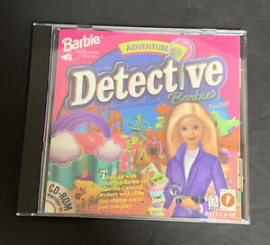 Barbie Adventure Detective Mystery Of The Carnival Caper CD-ROM Tested 1998