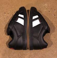 Osiris Loot Black Red Gum Size 5.5 US Men's BMX DC Skate Shoes Sneakers