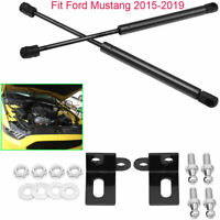 For 2015-2019 Ford MUSTANG Car Front Boot Bonnets Gas Lift Support Struts 2pcs