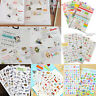 New DIY Calendar Scrapbook Album Diary Book Decor Paper Planner Sticker Craft