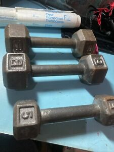 Hand Weights Dumbbells Set Of Three