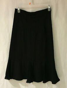 Ladies Weekenders Knit Streach Swing Skirt with Mesh detail MSRP49.95  NEW