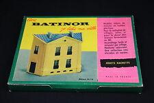 W529 Jouets Hachette BATINOR Train MaquetteHo 44/14 Maison imeuble diorama