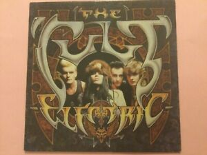THE CULT. ELECTRIC 1987 LP 1st pressing. Near mint.
